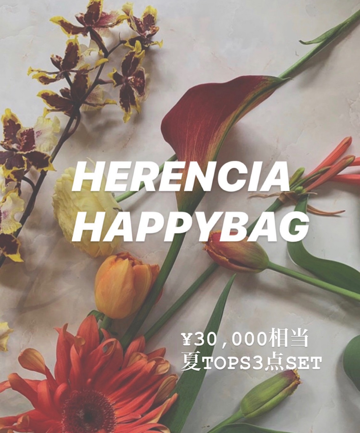 HERENCIA / 【HERENCIA HAPPY BAG】